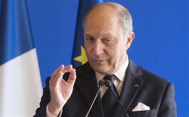 France sees Syrian regime participating in anti-ISIL fight