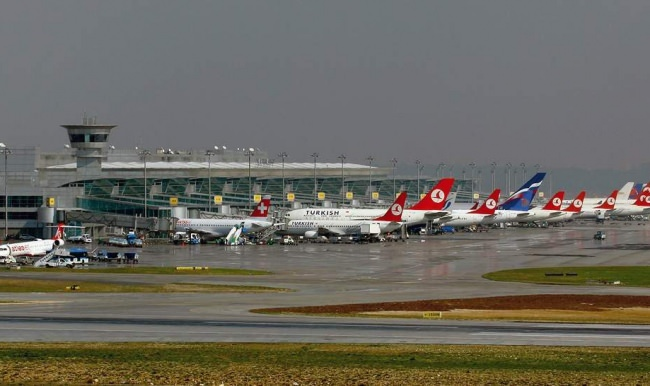 Turkish air passenger traffic up in first half of year