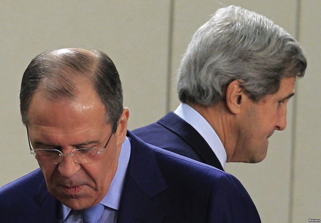 Kerry, Lavrov discuss downed Russian jet