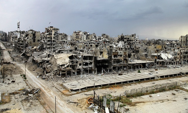 Syria regime advances against ISIL in Homs