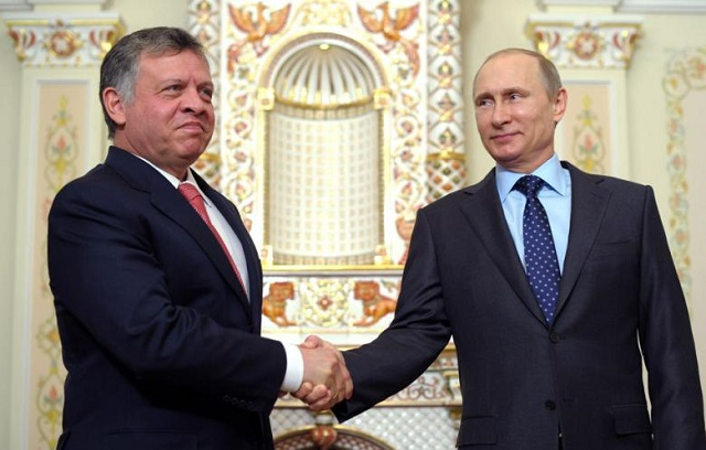 Russia, Jordan to 'coordinate' military ops in Syria