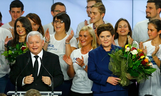 Poland right wing leads polls