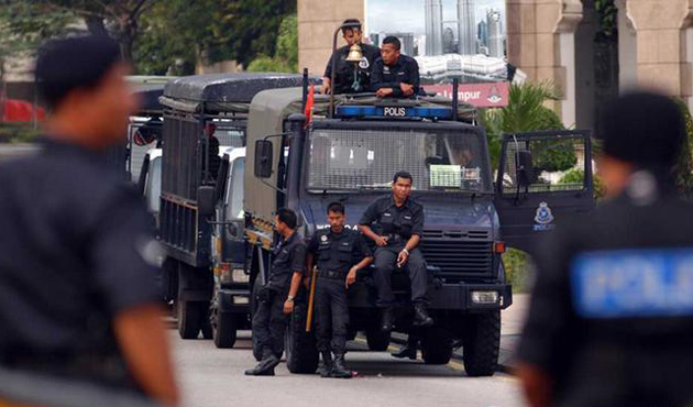 Malaysia becoming 'police state' as govt battles scandal: HRW