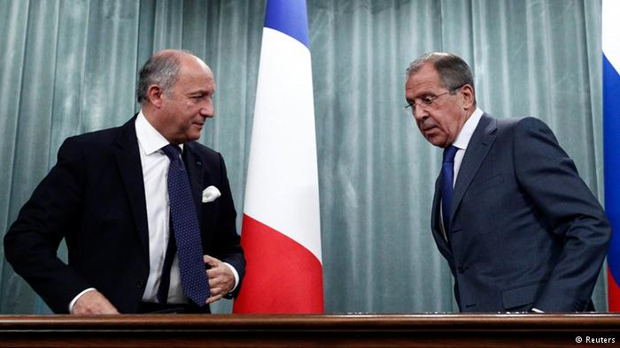 France, Russia FMs to talk ahead of Syria meeting