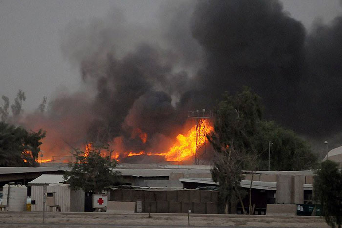Baghdad probing deadly attack on Iran opp. camp
