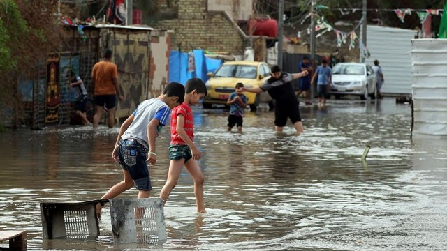 Iraq PM declares emergency in areas hit by heavy rain