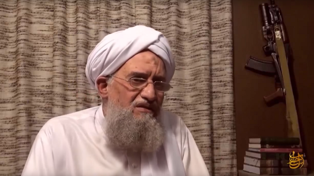 Al-Qaeda chief urges unity with ISIL to fight Russia, West