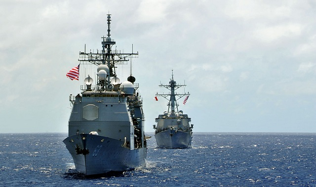 China reacts to Japan, US S.China Sea drill news