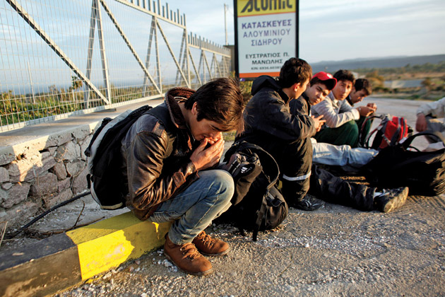 First refugees leave Greece under EU quota plan