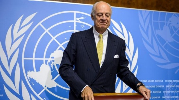 Syrians should join peace process: UN envoy