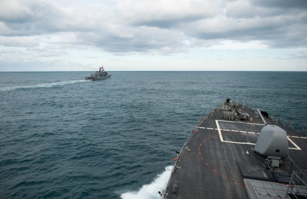 US destroyer completes exercise with Turkish Navy