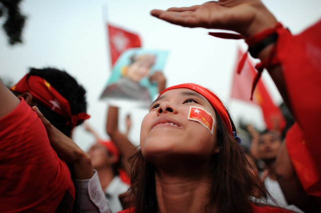 Opposition confident of Myanmar election victory