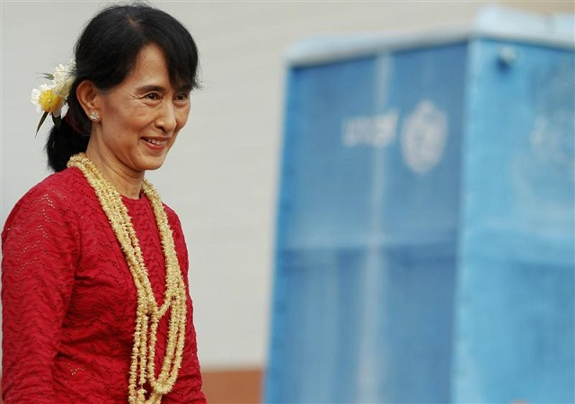 EU urges all sides to accept Myanmar vote