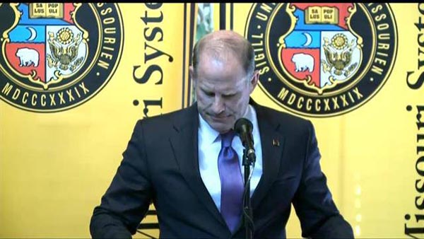 University of Missouri head resigns over race row