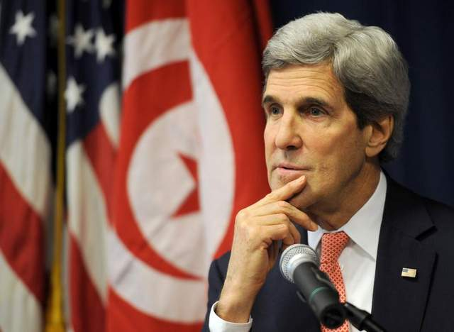 Kerry in Tunisia to bolster ties