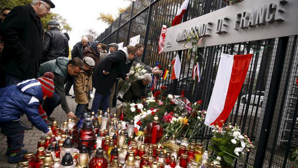 Poland refuses EU quotas after Paris attacks