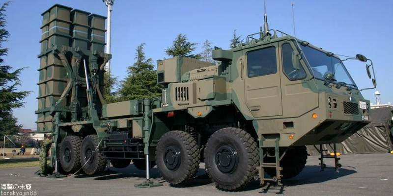 Japan tests new missiles in US