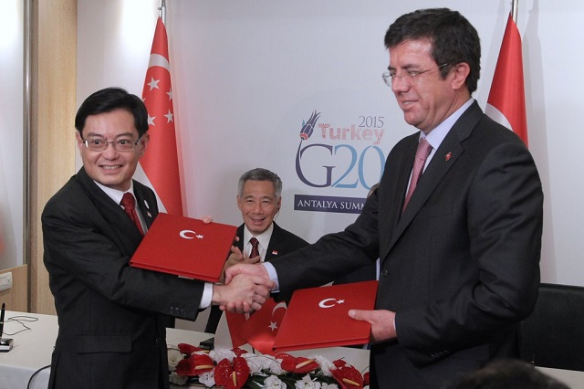 Turkey, Singapore agree on new free trade deal
