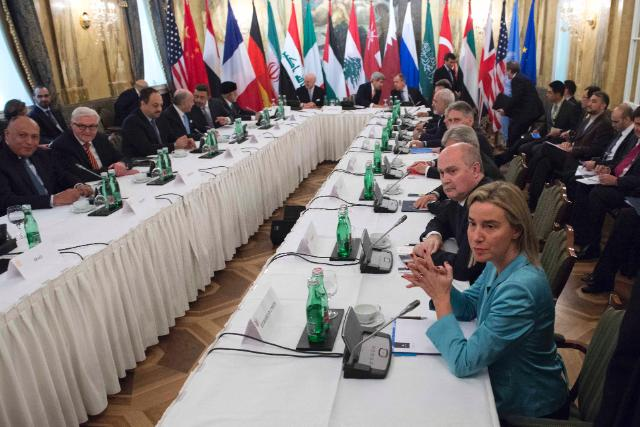 Syria talks in Vienna agree on ceasefire, elections