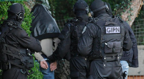French police carry out 150 raids