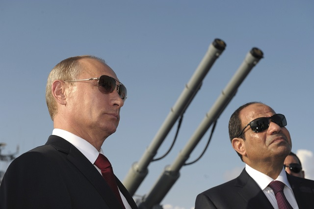 Russia, Egypt agree 'close' security cooperation