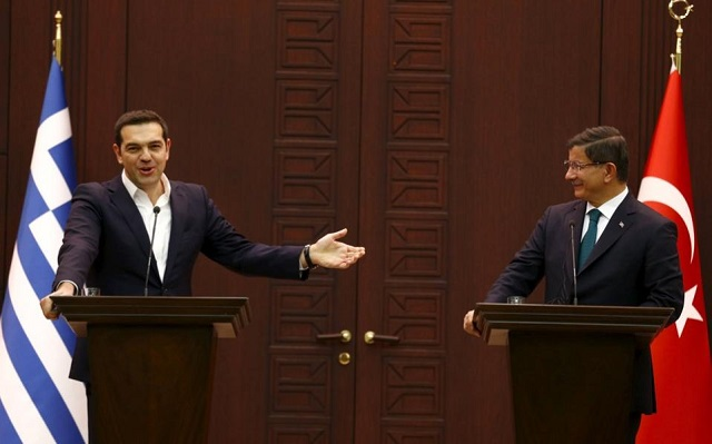 Greek PM calls for cooperation on refugees with Turkey