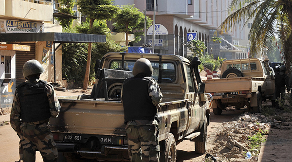 Two suspects in custody over Mali hotel attack