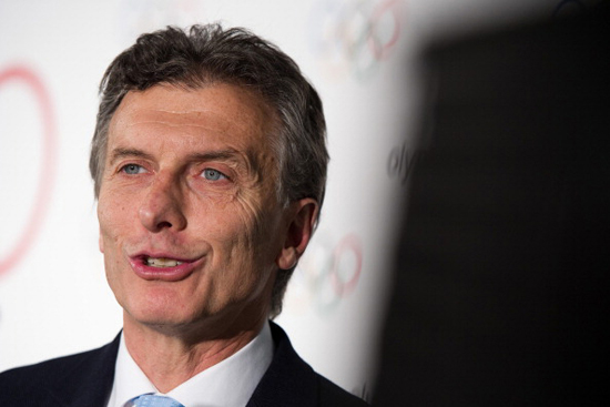 Macri poised to win Argentine presidential election