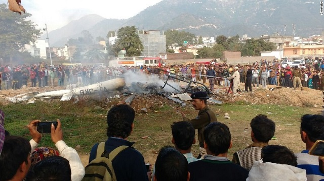 Deadly helicopter crash in India-occupied Kashmir