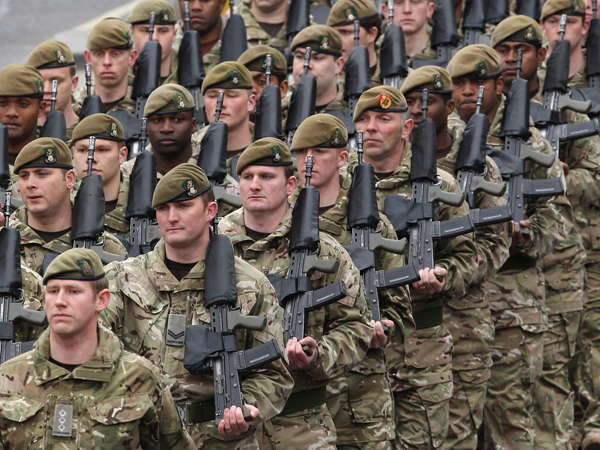 UK announces 10,000-strong 'rapid response' force