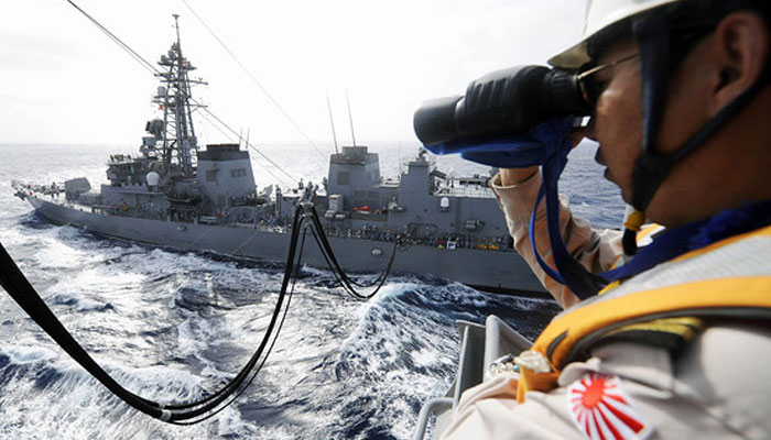 Japan, US agree on joint S.China Sea drills