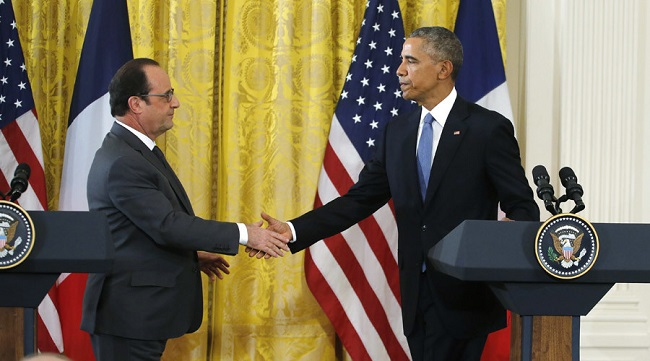 France, US vow unity against ISIL