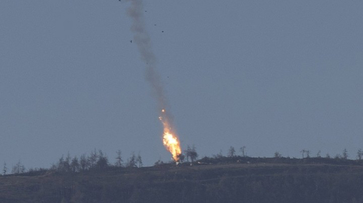 Russian downed jet pilot rescued