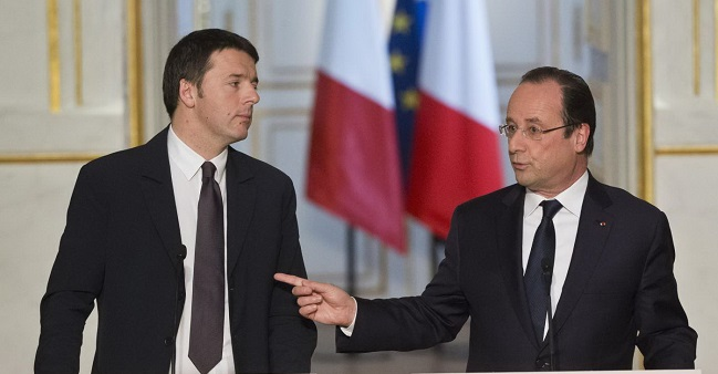 France, Italy support 'global agreement' with Turkey