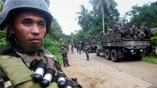 Philippine troops kill 'eight from ISIL linked group'