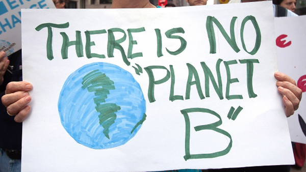 Global mass march ahead of UN climate summit