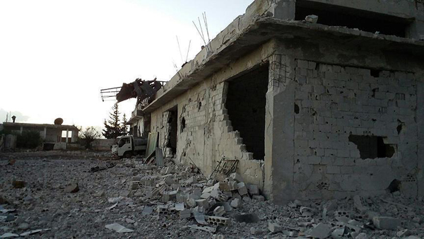Russia bombs Turkish bakery in Syria