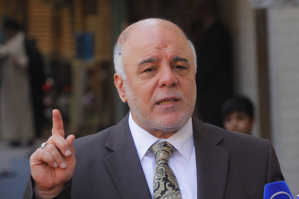 'All Iraqis' can help retake Mosul from ISIL: PM