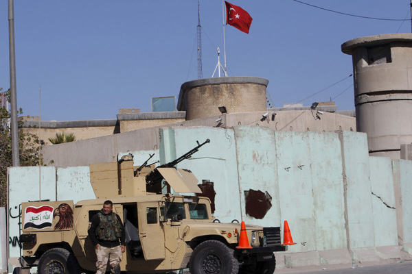 Some Turkish troops pull out from Mosul