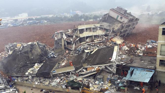 China landslide rescuers ordered to evacuate