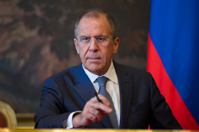 Lavrov urges Europe to drop 'geopolitical games' after Brussels