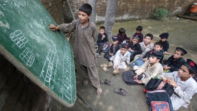 Millions of Afghan children out of school