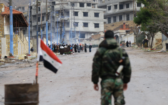 Opposition says time to give Syria back to Syrians