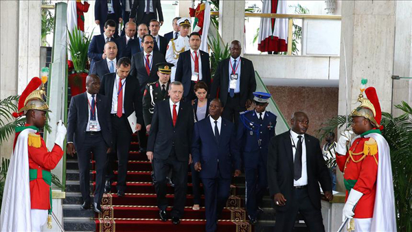 Turkish-African relations at all time high