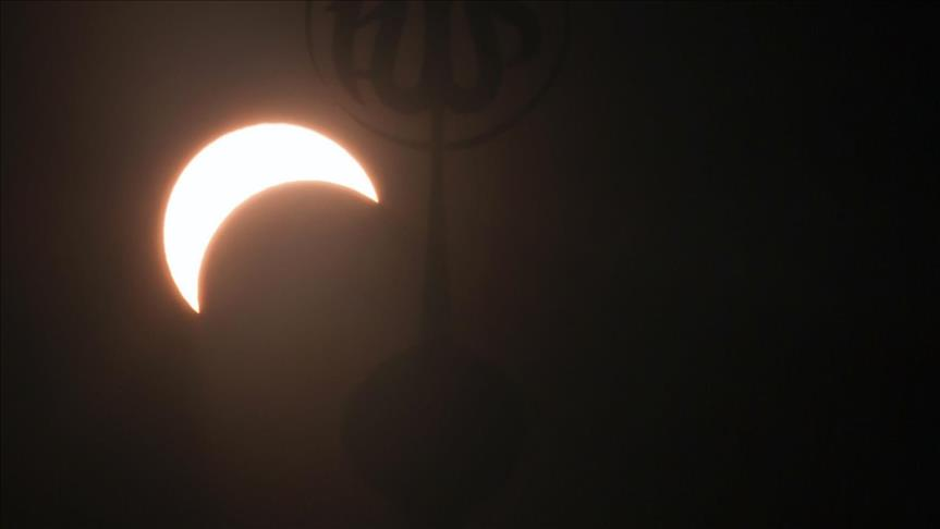 Thousands gather across Indonesia for solar eclipse