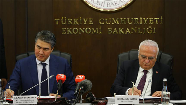 Turkey, Kazakhstan to boost trade with Middle Corridor