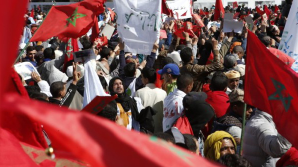 Millions in Morocco protest  Ban Ki-Moon statements