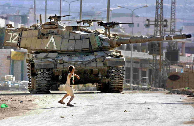 7 Palestinian children imprisoned for throwing stones