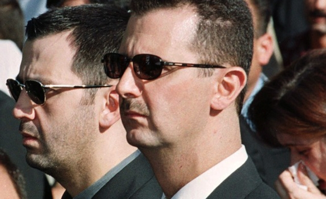 Assad's brother moved from key command