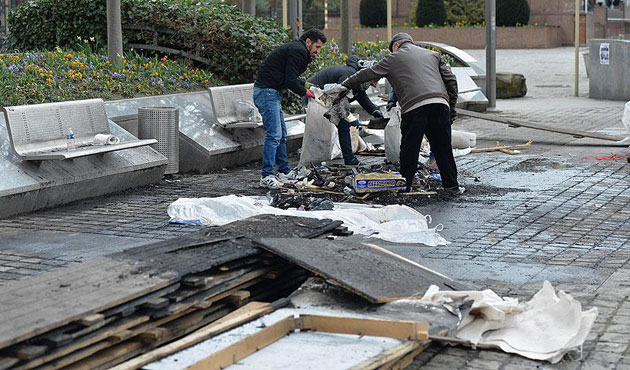 Controversial PKK tent in Brussels removed